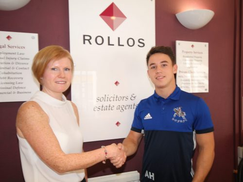 Rollos Sponsor Howe of Fife Player