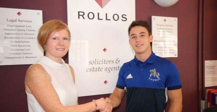 Rollos Sponsor Howe of Fife Player