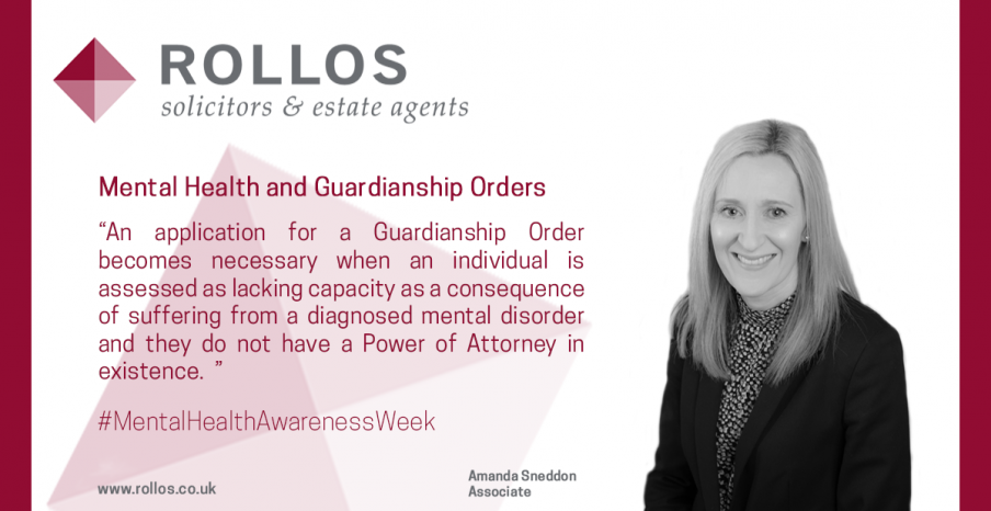MENTAL HEALTH AND GUARDIANSHIP ORDERS